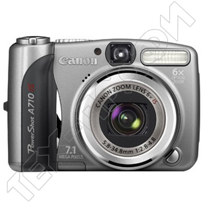 Ремонт Canon PowerShot A710 IS