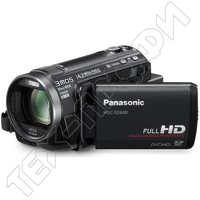 Ремонт Panasonic HDC-SD600