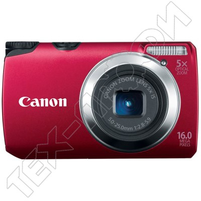 Ремонт Canon PowerShot A3300 IS